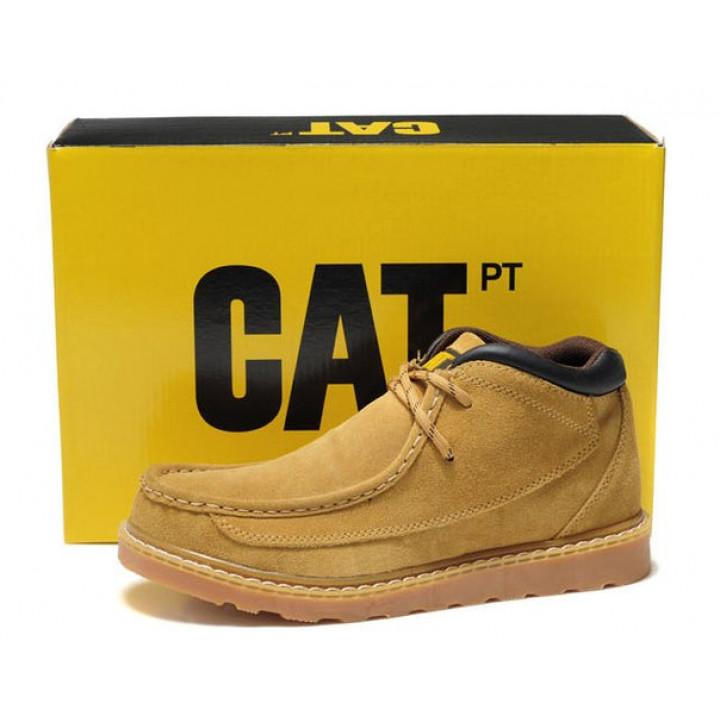 Демисезонные ботинки CAT без меха